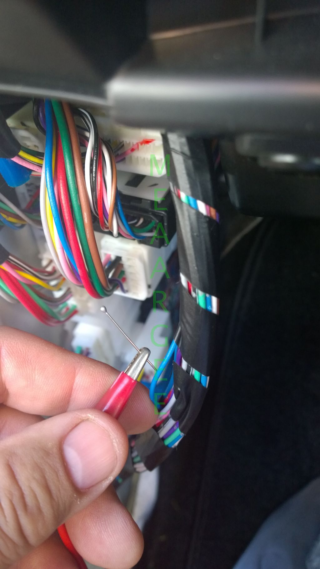 Hacking The Electronics Engineers Shed 2001 Mitsubishi Galant Es Fuse Box Finding Reverse Wire Wm
